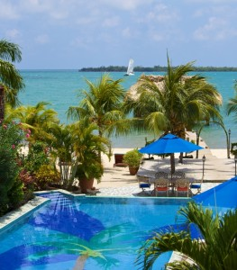 Chabil Mar Belize Resort 2nd Floor Easterly View