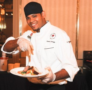 Devon Joseph, Trinidad & Tobago, was named Taste of the Caribbean Chef of the Year in 2012.