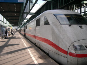 Deutsche Bahn's High Speed Inter City Express ICE Train