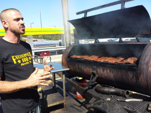 Anthony DiFranco, owner of Full Service BBQ