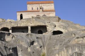 Three-nave basilica at Uplistsikhe. Credit: Robin Swados