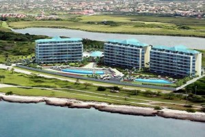 Aerial view of Blue Residences, Aruba