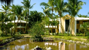 The rooms are in bungalows, eight to a unit, Bavaro Princess, Punta Cana, Dominican Republic