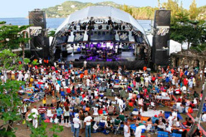 st lucia jazz seating view